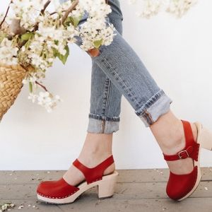 Highwood Red Clogs from Lotta from Stockholm